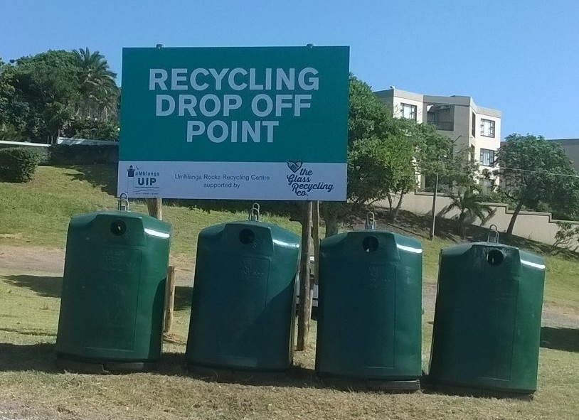 Glass Recycling Point
