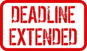 Objection Deadline Extended