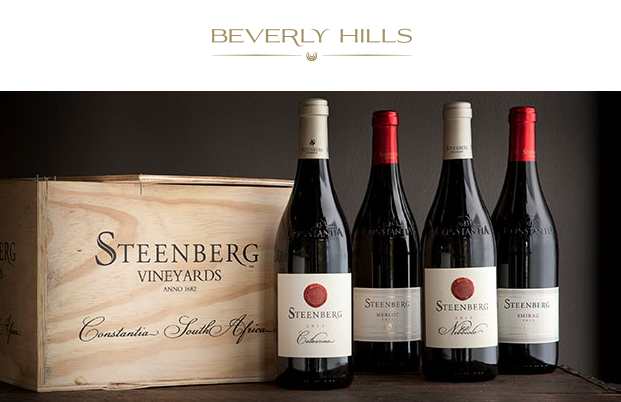 Steenberg Wine Paired Dinner at the Beverly Hills